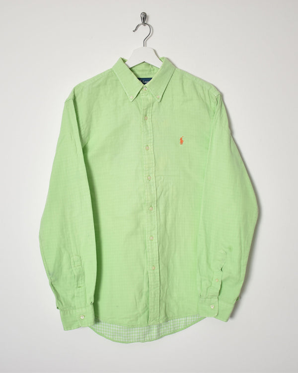 Ralph Lauren Shirt - Large - Domno Vintage 90s, 80s, 00s Retro and Vintage Clothing