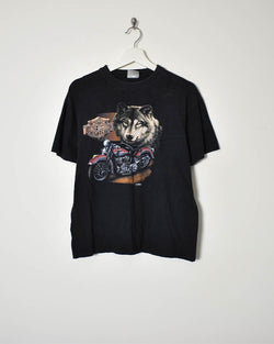Harley Davidson T-Shirt - Small - Domno Vintage 90s, 80s, 00s Retro and Vintage Clothing
