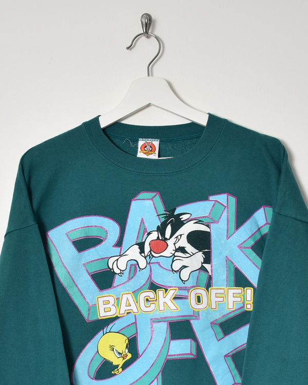Looney Tunes Sweatshirt - Large - Domno Vintage 90s, 80s, 00s Retro and Vintage Clothing