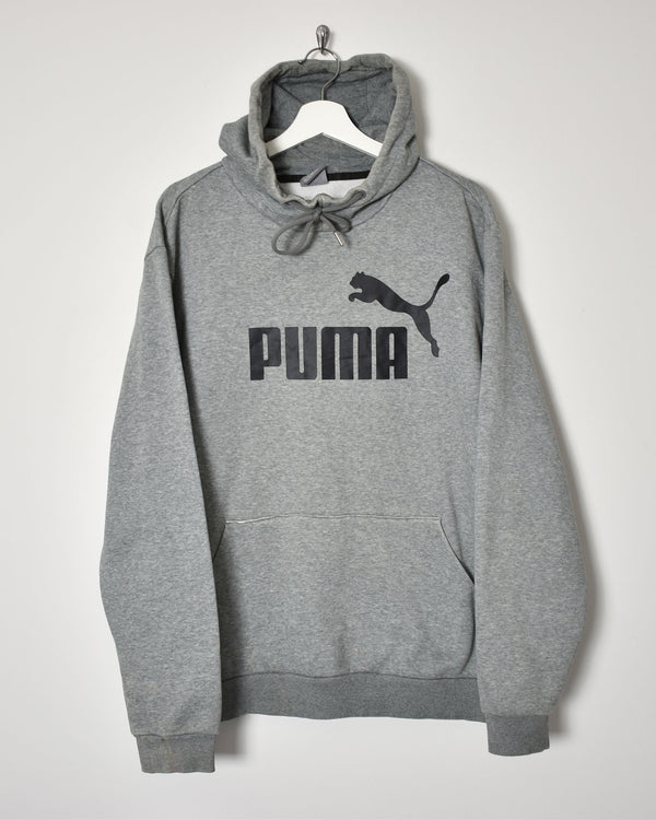 Puma Hoodie - XX-Large - Domno Vintage 90s, 80s, 00s Retro and Vintage Clothing