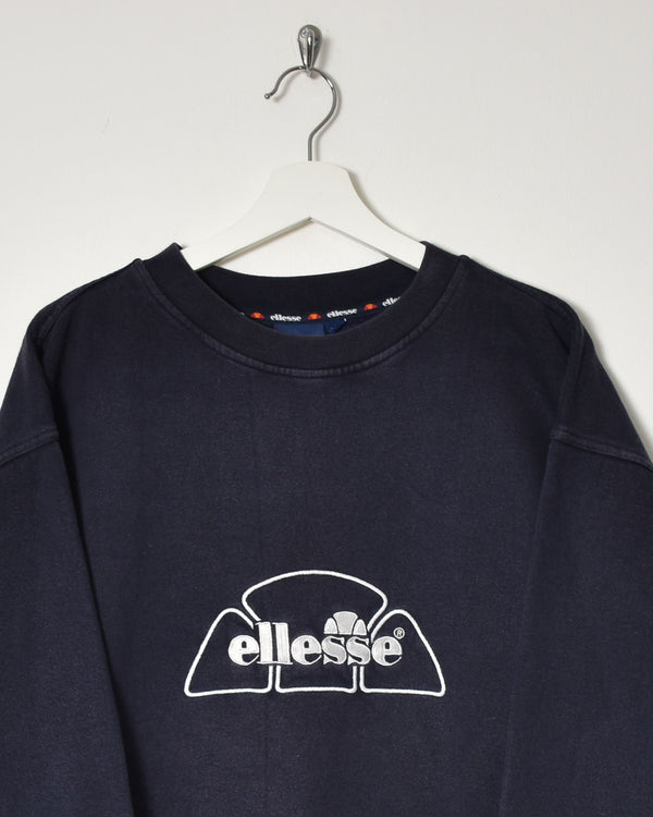 Ellesse Sweatshirt - X-Large - Domno Vintage 90s, 80s, 00s Retro and Vintage Clothing