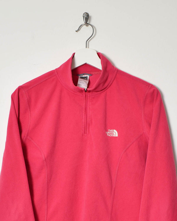 The North Face 1/4 Zip Women's Fleece - Large - Domno Vintage 90s, 80s, 00s Retro and Vintage Clothing