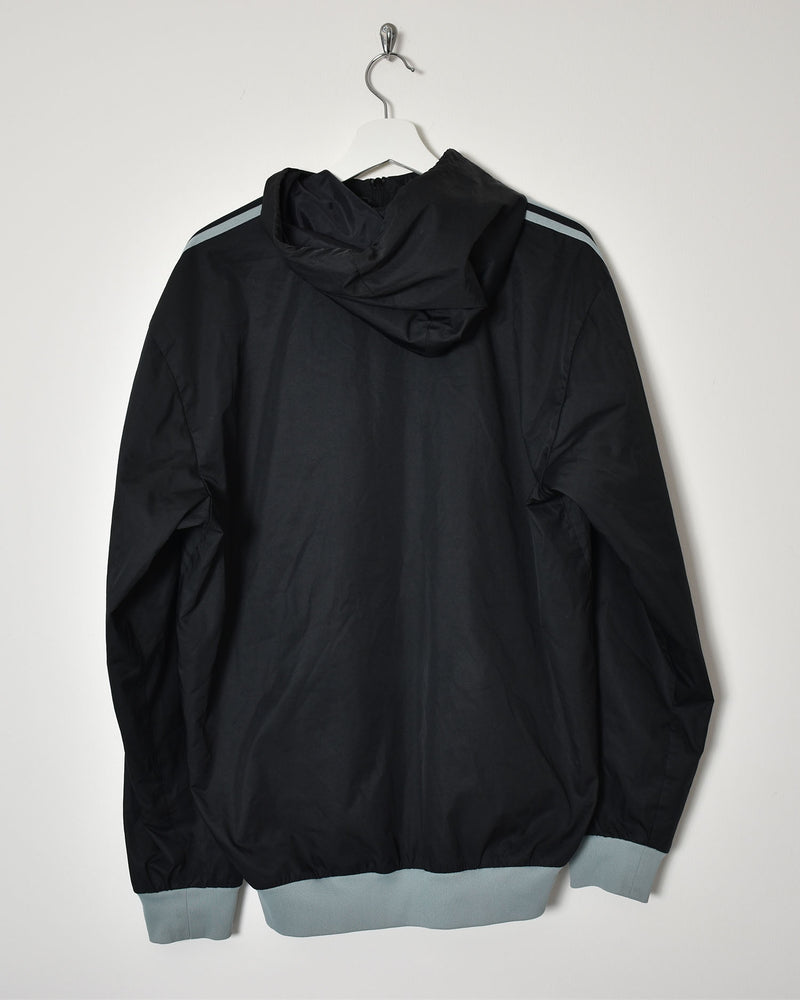 Adidas Hooded Jacket - Large - Domno Vintage