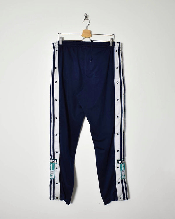 Adidas Popper Tracksuit Bottoms - Large