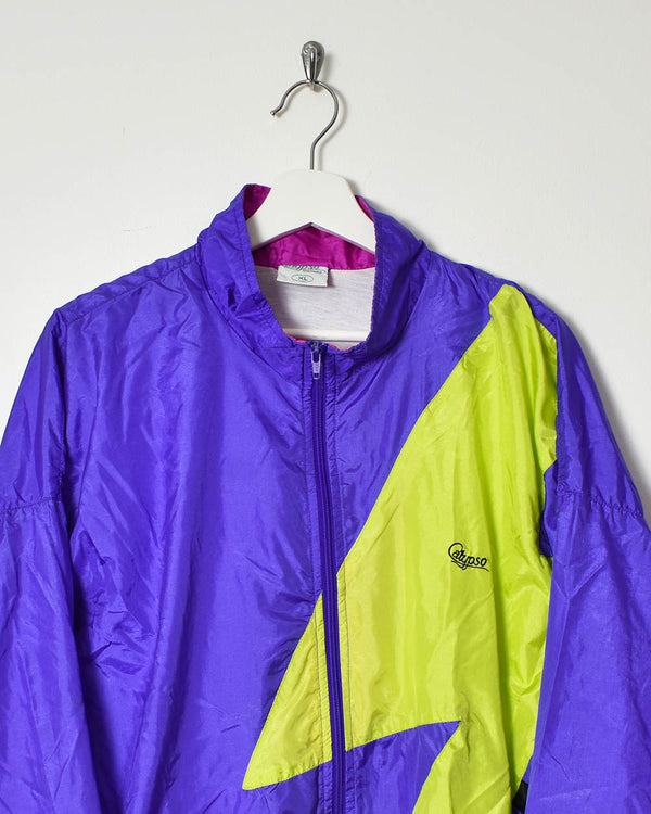 Vintage 90s Shell Jacket - X-Large