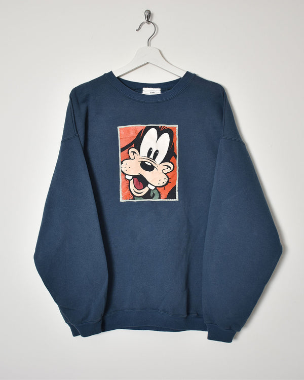 Disney Sweatshirt - Large - Domno Vintage 90s, 80s, 00s Retro and Vintage Clothing