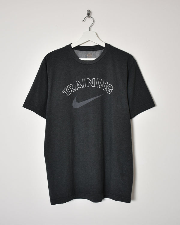 Nike Training T-Shirt - Large - Domno Vintage 90s, 80s, 00s Retro and Vintage Clothing