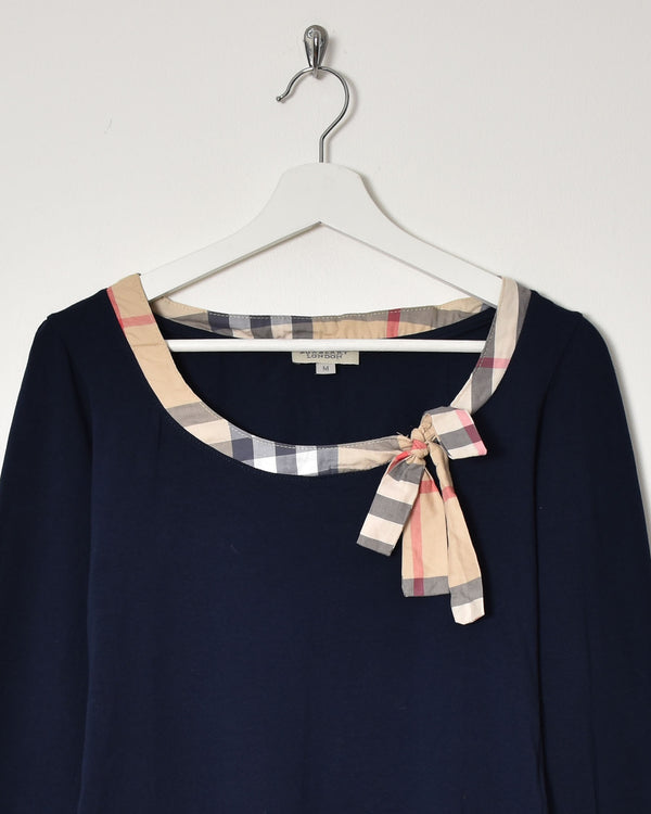 Burberry Women's Top - Medium - Domno Vintage 90s, 80s, 00s Retro and Vintage Clothing