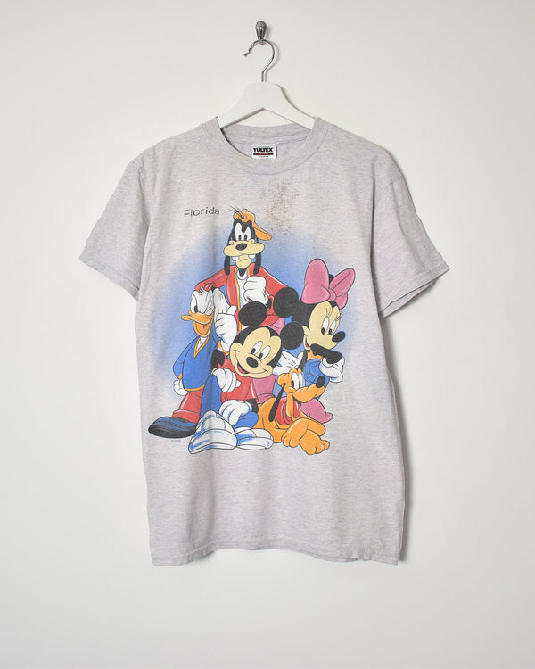Mickey Mouse T-Shirt - Medium - Domno Vintage 90s, 80s, 00s Retro and Vintage Clothing