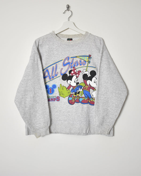 Disney Sweatshirt - Medium - Domno Vintage 90s, 80s, 00s Retro and Vintage Clothing