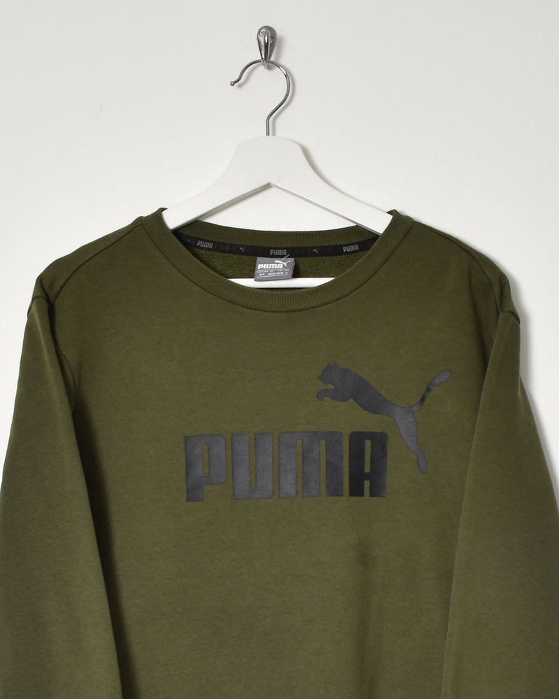 Puma Sweatshirt - Small - Domno Vintage 90s, 80s, 00s Retro and Vintage Clothing