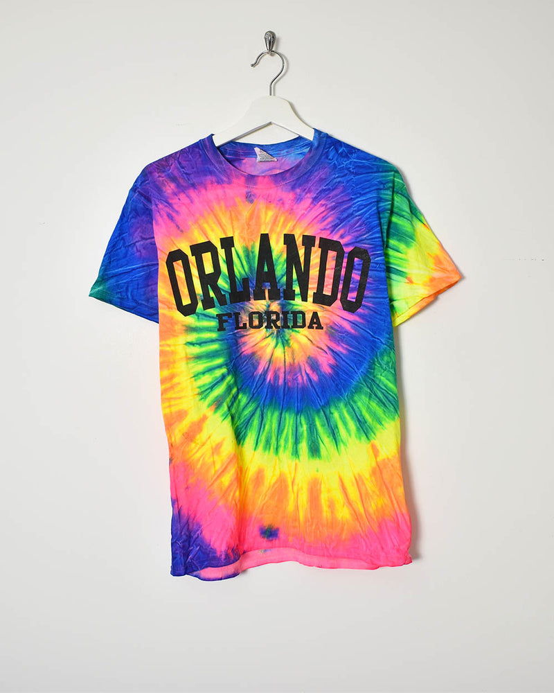 Vintage Tie Dye T-Shirt - Medium - Domno Vintage 90s, 80s, 00s Retro and Vintage Clothing