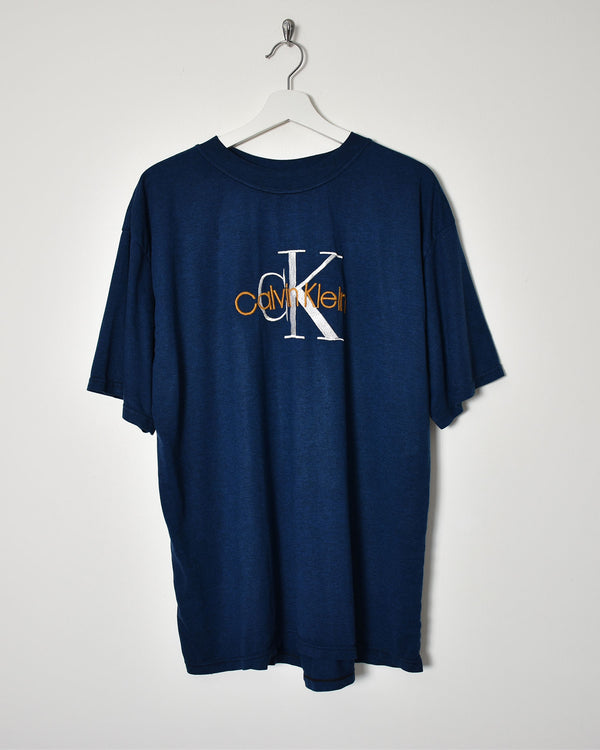 Calvin Klein T-Shirt - X-Large - Domno Vintage 90s, 80s, 00s Retro and Vintage Clothing