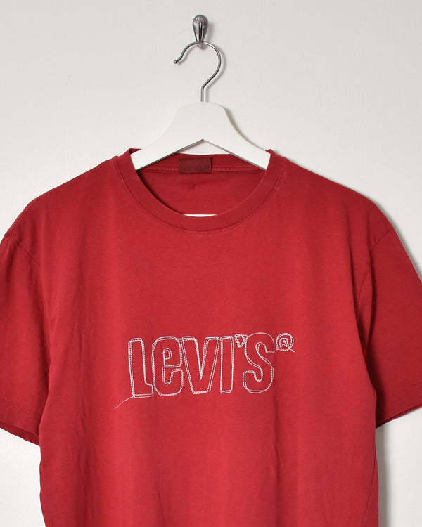 Levi's T-Shirt - Large - Domno Vintage 90s, 80s, 00s Retro and Vintage Clothing