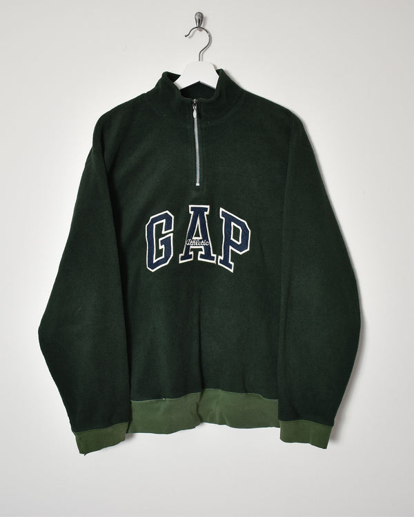 Gap 1/4 Zip Fleece - Medium - Domno Vintage 90s, 80s, 00s Retro and Vintage Clothing