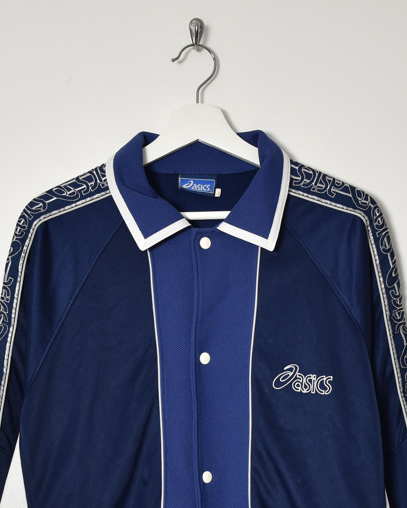 Asics Tracksuit Top - Large - Domno Vintage 90s, 80s, 00s Retro and Vintage Clothing