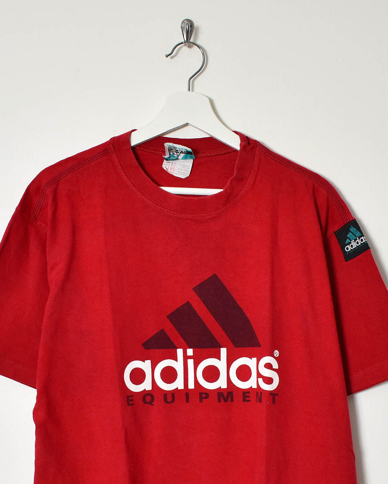 Adidas Equipment T-Shirt - Large - Domno Vintage 90s, 80s, 00s Retro and Vintage Clothing