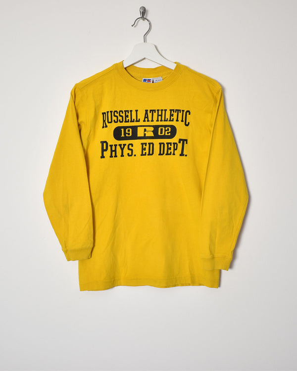 Russel Athletics Long Sleeve T-Shirt - XX-Small - Domno Vintage 90s, 80s, 00s Retro and Vintage Clothing