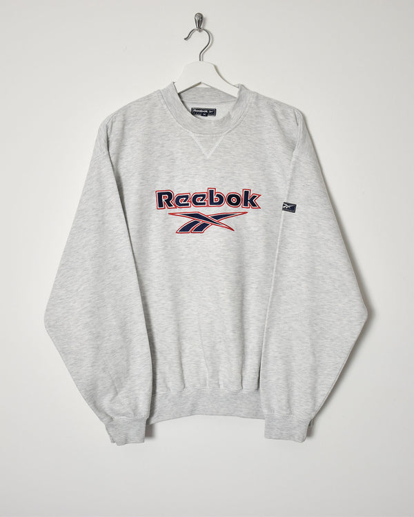 Reebok Sweatshirt - Medium - Domno Vintage 90s, 80s, 00s Retro and Vintage Clothing