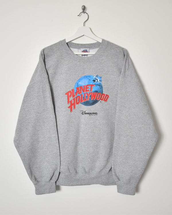 Planet Hollywood Sweatshirt - X-Large - Domno Vintage 90s, 80s, 00s Retro and Vintage Clothing