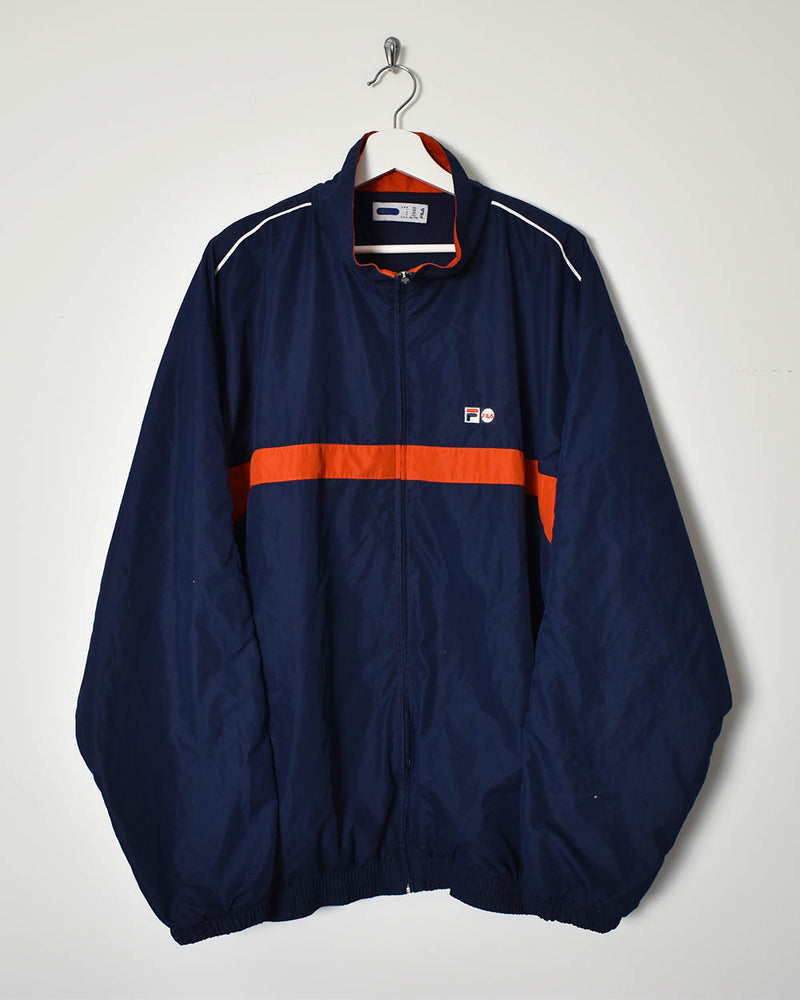 Fila Track Jacket - XX-Large - Domno Vintage 90s, 80s, 00s Retro and Vintage Clothing