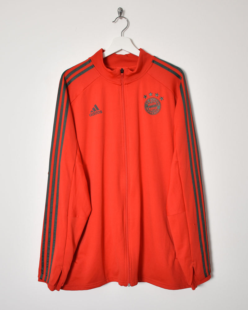 Adidas Bayern Munich Tracksuit Top - XX-Large - Domno Vintage 90s, 80s, 00s Retro and Vintage Clothing