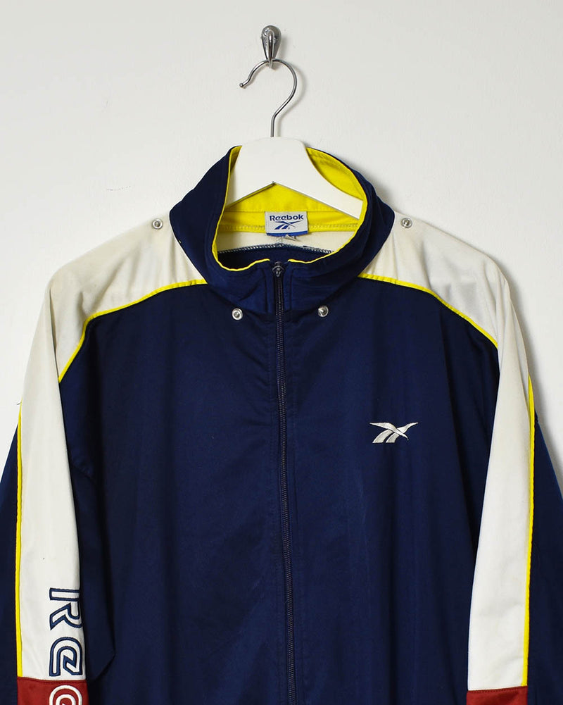 Reebok Tracksuit Top - X-Large - Domno Vintage 90s, 80s, 00s Retro and Vintage Clothing