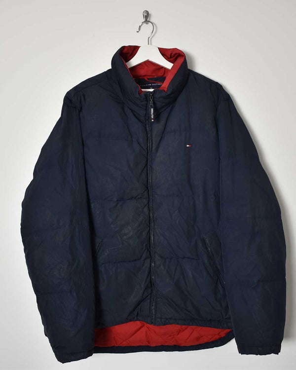 Tommy Hilfiger Puffer Jacket - X-Large - Domno Vintage 90s, 80s, 00s Retro and Vintage Clothing