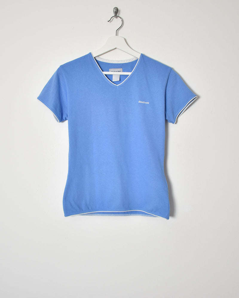 Reebok Women's T-Shirt - Small - Domno Vintage 90s, 80s, 00s Retro and Vintage Clothing