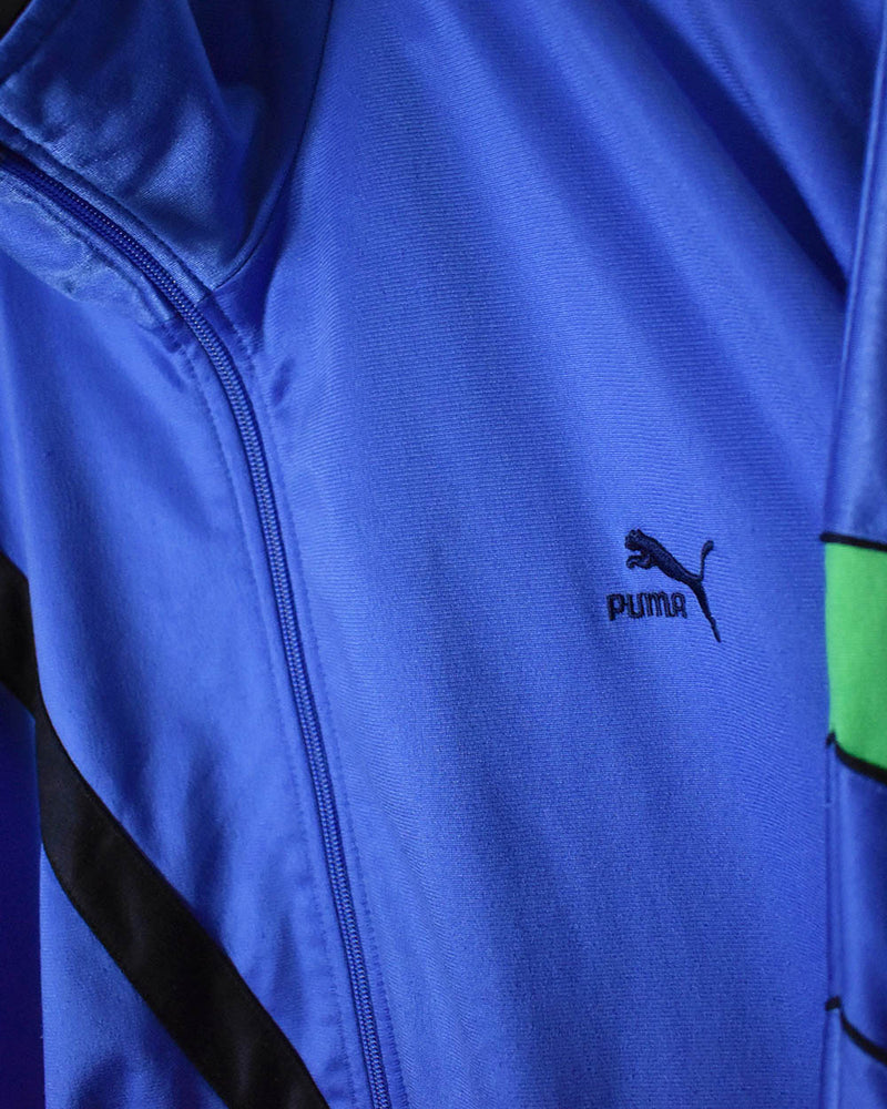Puma Tracksuit Top - X-Large - Domno Vintage 90s, 80s, 00s Retro and Vintage Clothing