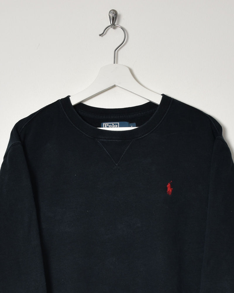 Ralph Lauren Sweatshirt - Large - Domno Vintage 90s, 80s, 00s Retro and Vintage Clothing