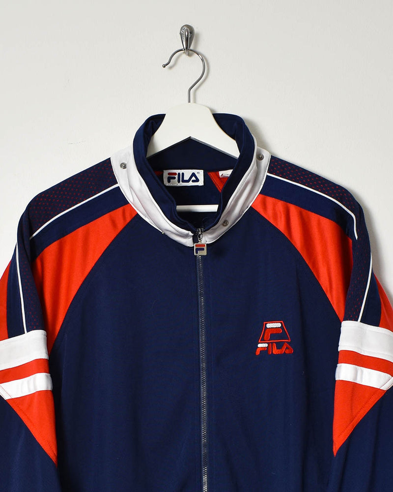 Fila Tracksuit Top - X-Large - Domno Vintage 90s, 80s, 00s Retro and Vintage Clothing