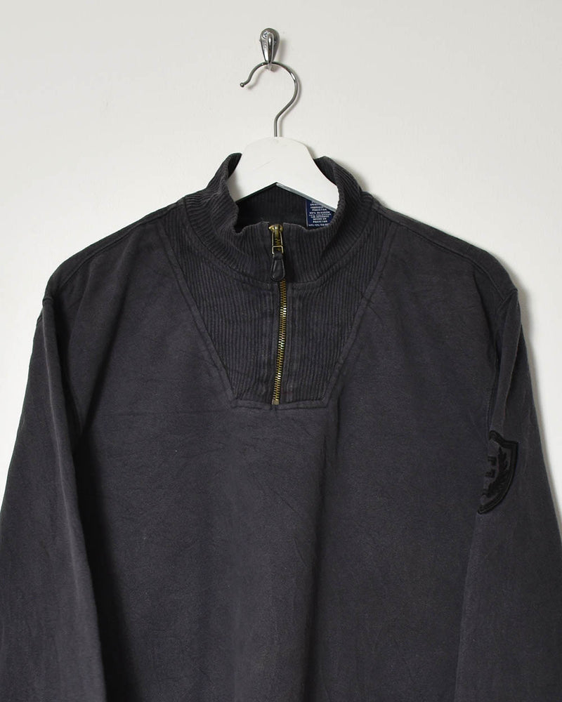 Chaps 1/4 Zip Sweatshirt - Large