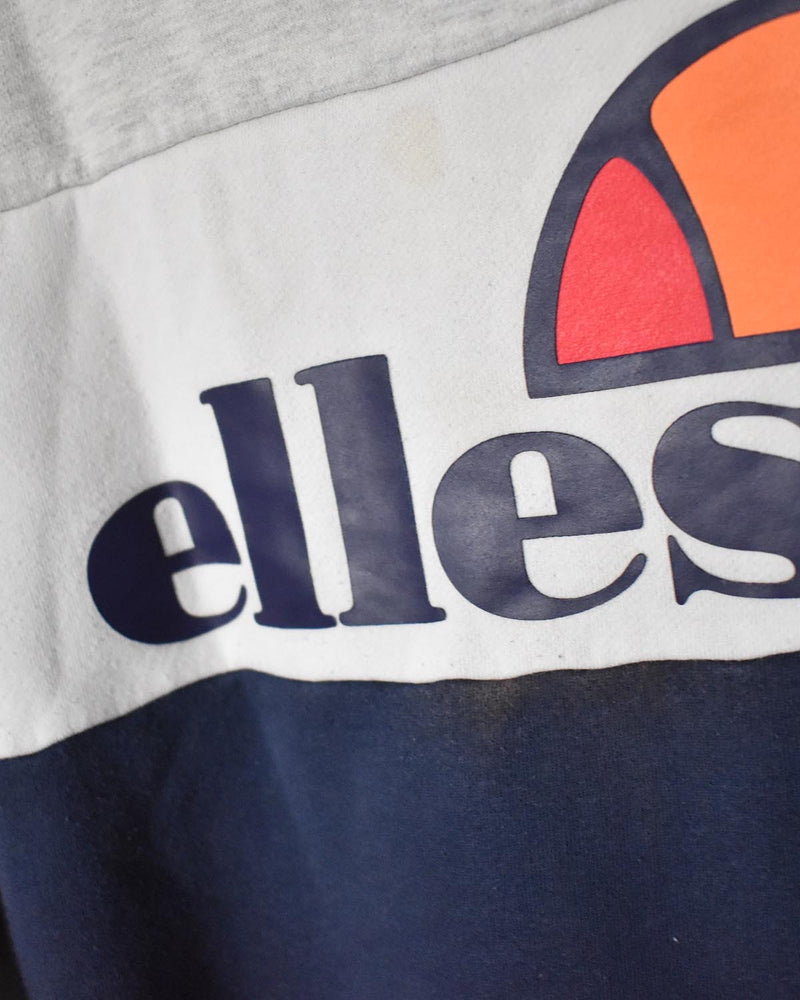 Ellesse Sweatshirt - X-Small - Domno Vintage 90s, 80s, 00s Retro and Vintage Clothing