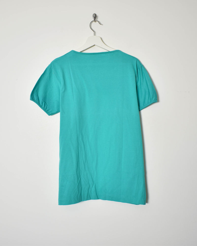 Benetton T-Shirt - Large - Domno Vintage 90s, 80s, 00s Retro and Vintage Clothing
