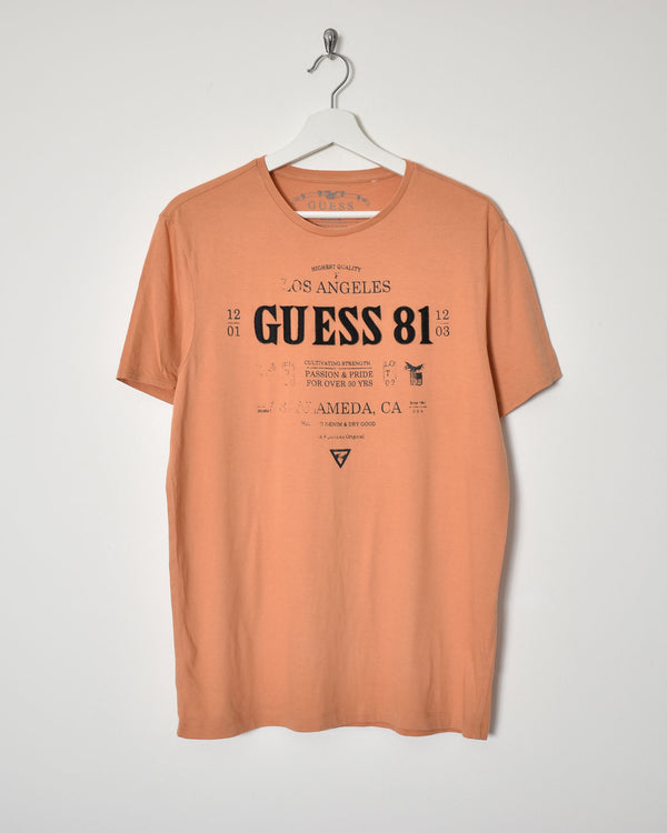 Guess T-Shirt - Medium - Domno Vintage 90s, 80s, 00s Retro and Vintage Clothing