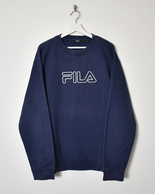 Fila Sweatshirt - XX-Large - Domno Vintage 90s, 80s, 00s Retro and Vintage Clothing
