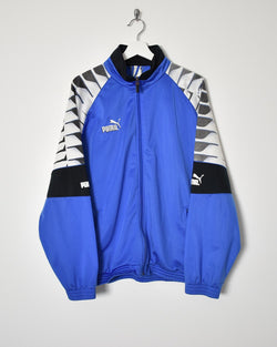 Puma Tracksuit Top - Medium - Domno Vintage 90s, 80s, 00s Retro and Vintage Clothing
