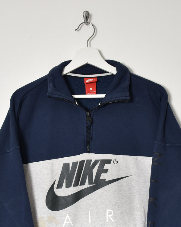 Nike Air 1/4 Zip Sweatshirt - Medium - Domno Vintage 90s, 80s, 00s Retro and Vintage Clothing