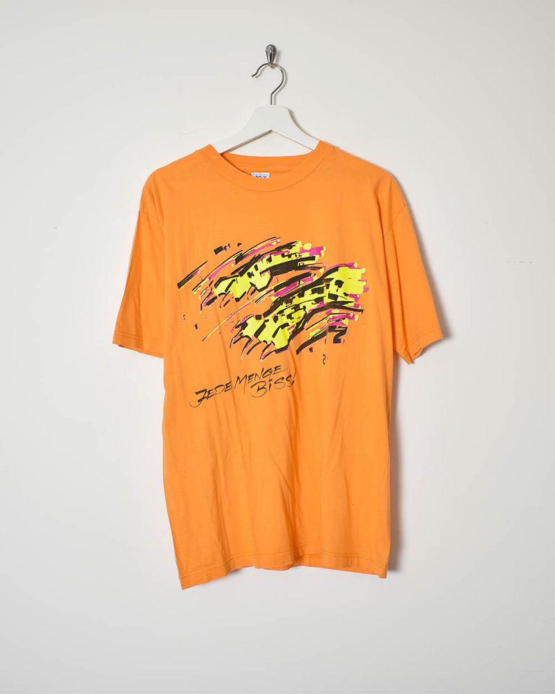 Asics T-Shirt - X-Large - Domno Vintage 90s, 80s, 00s Retro and Vintage Clothing