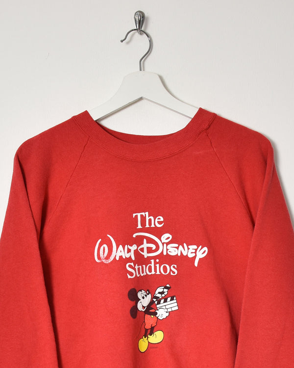 Mickey Mouse Sweatshirt - X-Large - Domno Vintage 90s, 80s, 00s Retro and Vintage Clothing