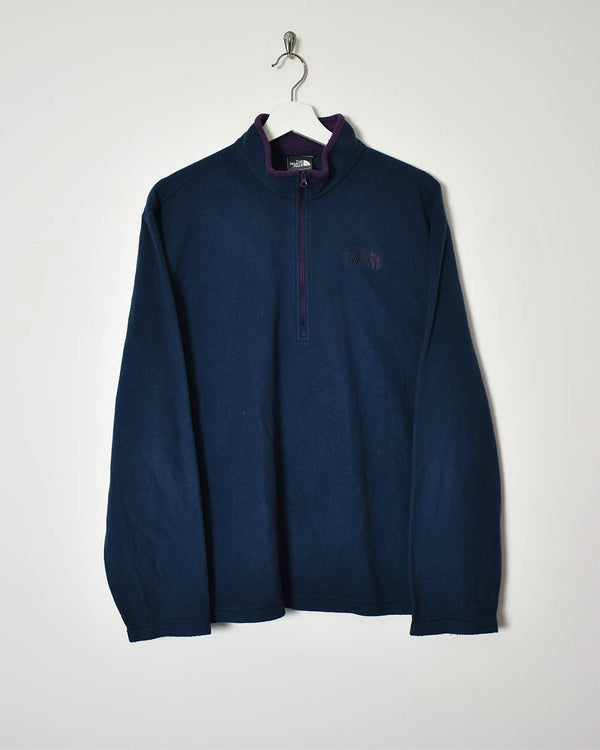 The North Face 1/4 Zip Fleece - Large