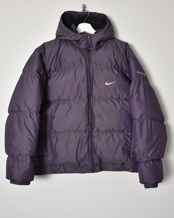 Nike Women's Puffer Jacket - Large - Domno Vintage 90s, 80s, 00s Retro and Vintage Clothing