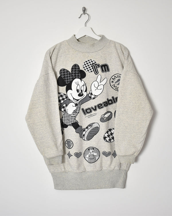 Minnie Mouse Sweatshirt - X-Large - Domno Vintage 90s, 80s, 00s Retro and Vintage Clothing