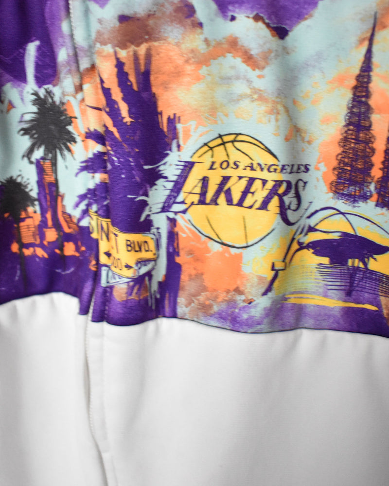 Adidas Originals LA Lakers NBA Tracksuit Top - Large - Domno Vintage 90s, 80s, 00s Retro and Vintage Clothing
