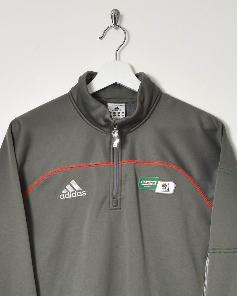 Adidas 1/4 Zip Tracksuit Top - Large