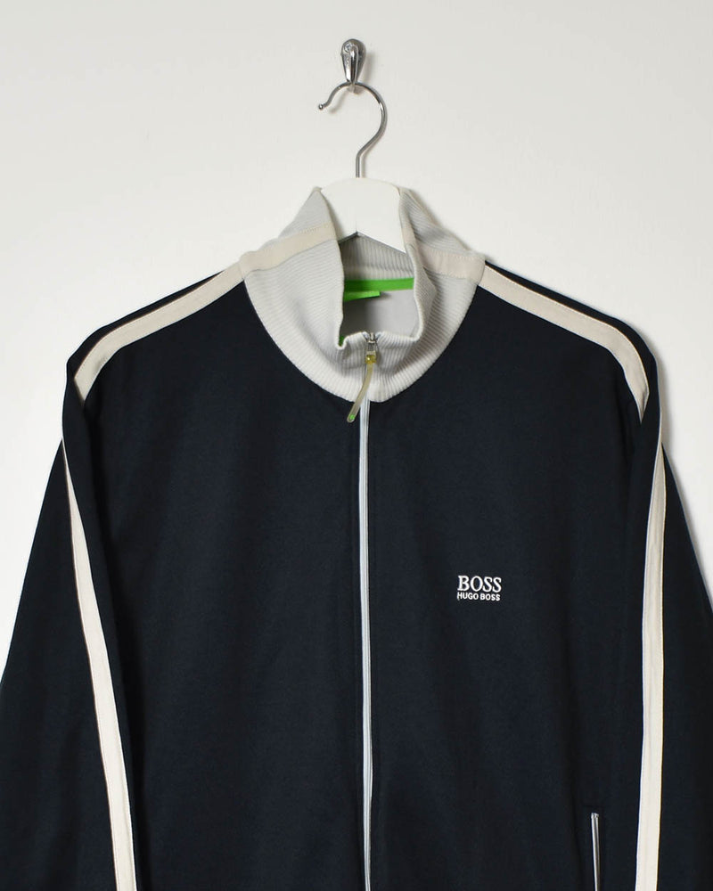 Hugo Boss Tracksuit Top - Medium - Domno Vintage 90s, 80s, 00s Retro and Vintage Clothing