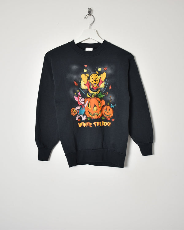 Winnie The Pooh Sweatshirt - X-Small - Domno Vintage 90s, 80s, 00s Retro and Vintage Clothing