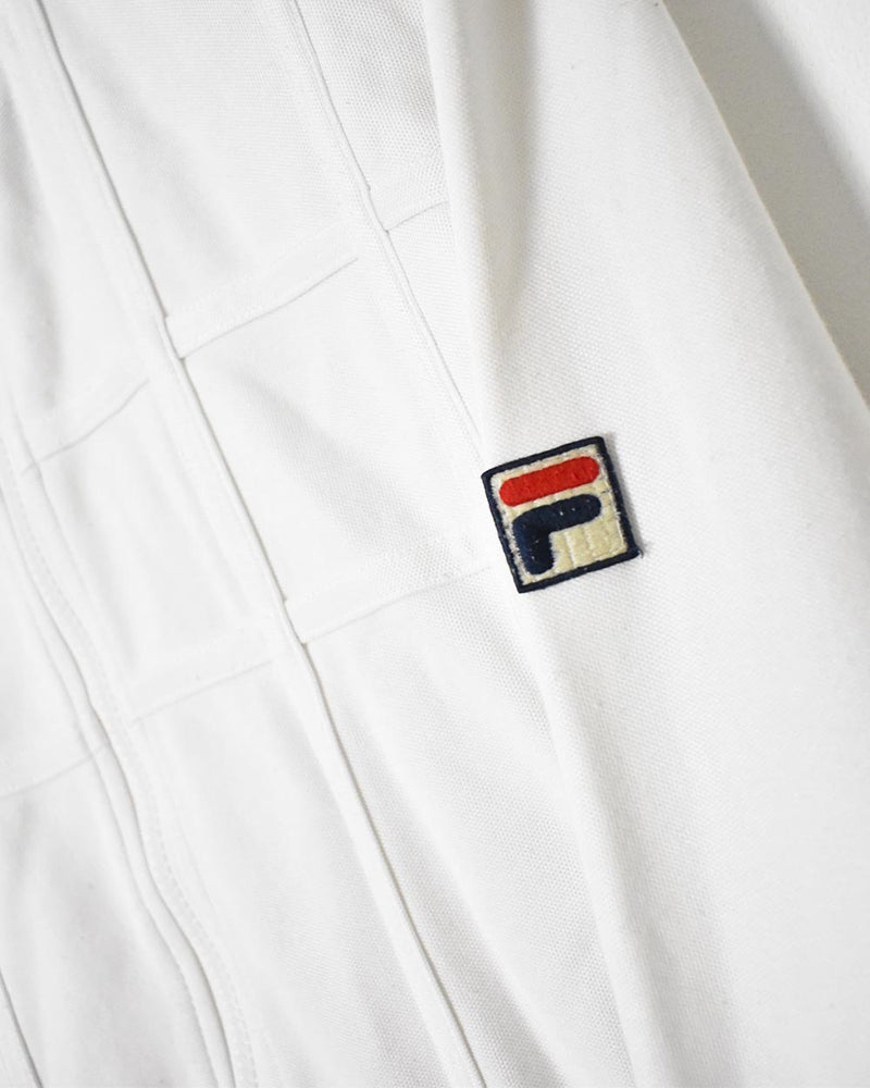 Fila Tracksuit Top - Small - Domno Vintage 90s, 80s, 00s Retro and Vintage Clothing