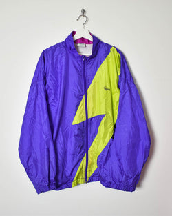 Vintage 90s Shell Jacket - X-Large - Domno Vintage 90s, 80s, 00s Retro and Vintage Clothing
